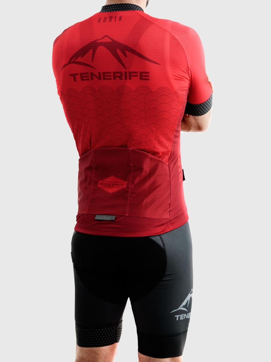 Gobik Male Red Jersey Maillot Right Bike Point Tenerife Bike Hire & Bike Rental
