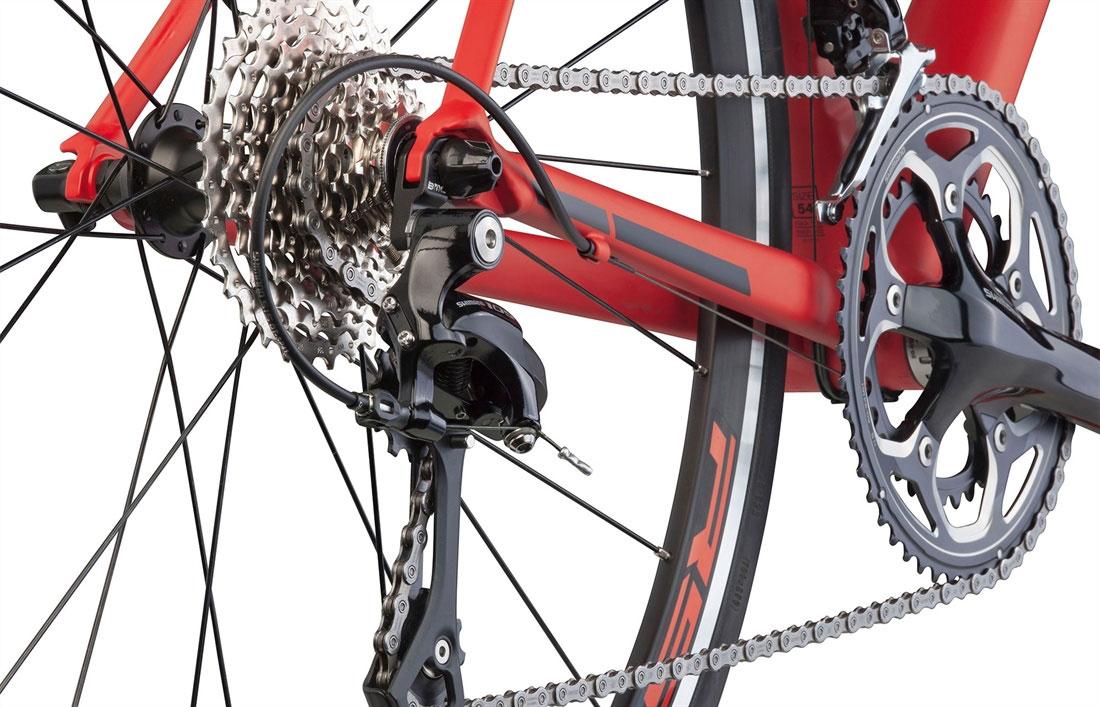 Teammachine Alr01 Two Red Black Large 3 Bike Point Tenerife Bike Hire & Bike Rental