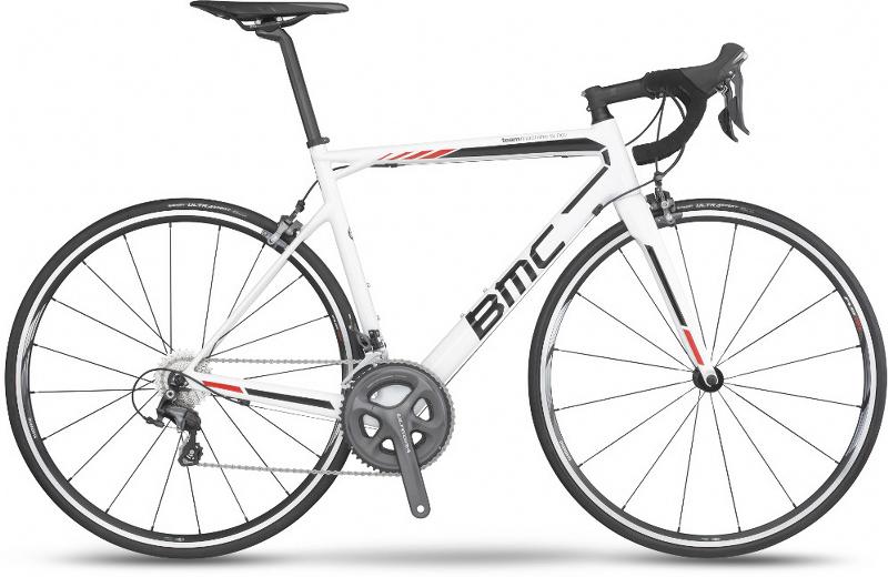 BMC SLR02 white Ultegra bike rent tenerife