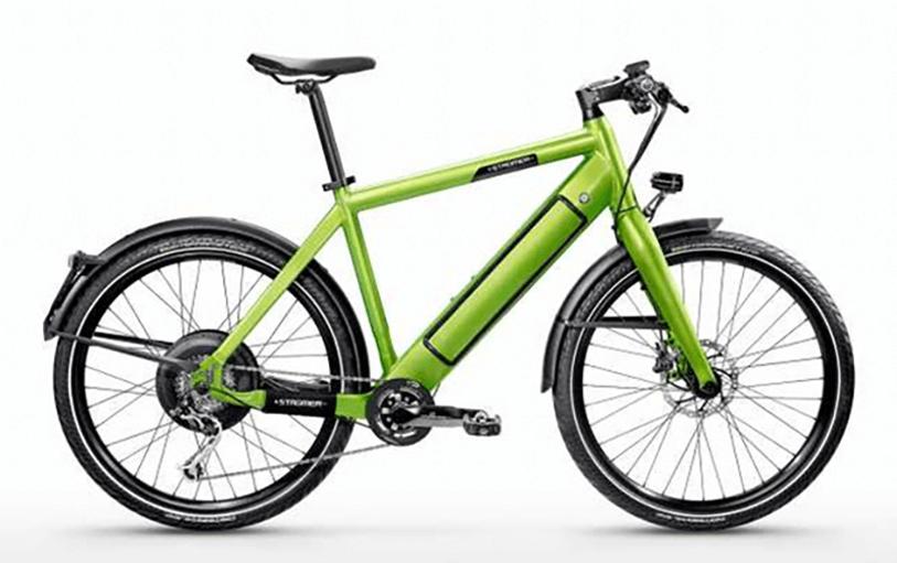 STROMER ST1 P48 green bike rental tenerife