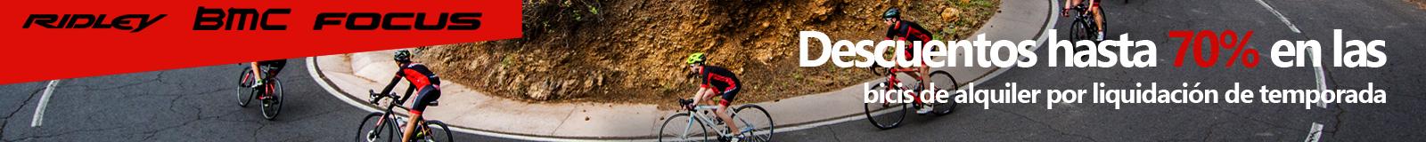 Descuentos hasta 70% en las bicis de alquiler por liquidaci�n de temporada