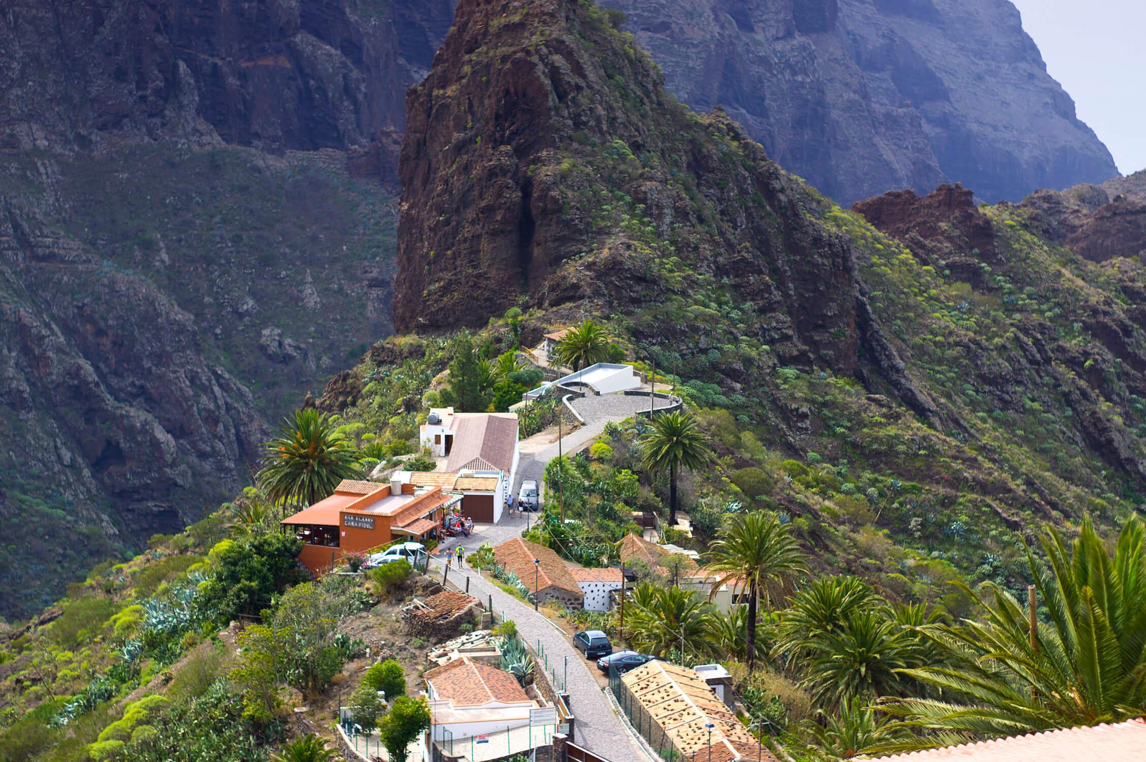 Pueblo de Masca tour